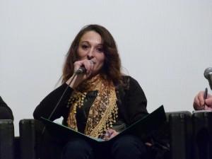 Marcela lors de la conférence